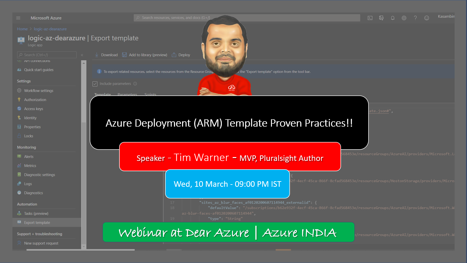 [Webinar] – Azure Resource Manager Template 📃 Development and Proven Practices 👨🔧