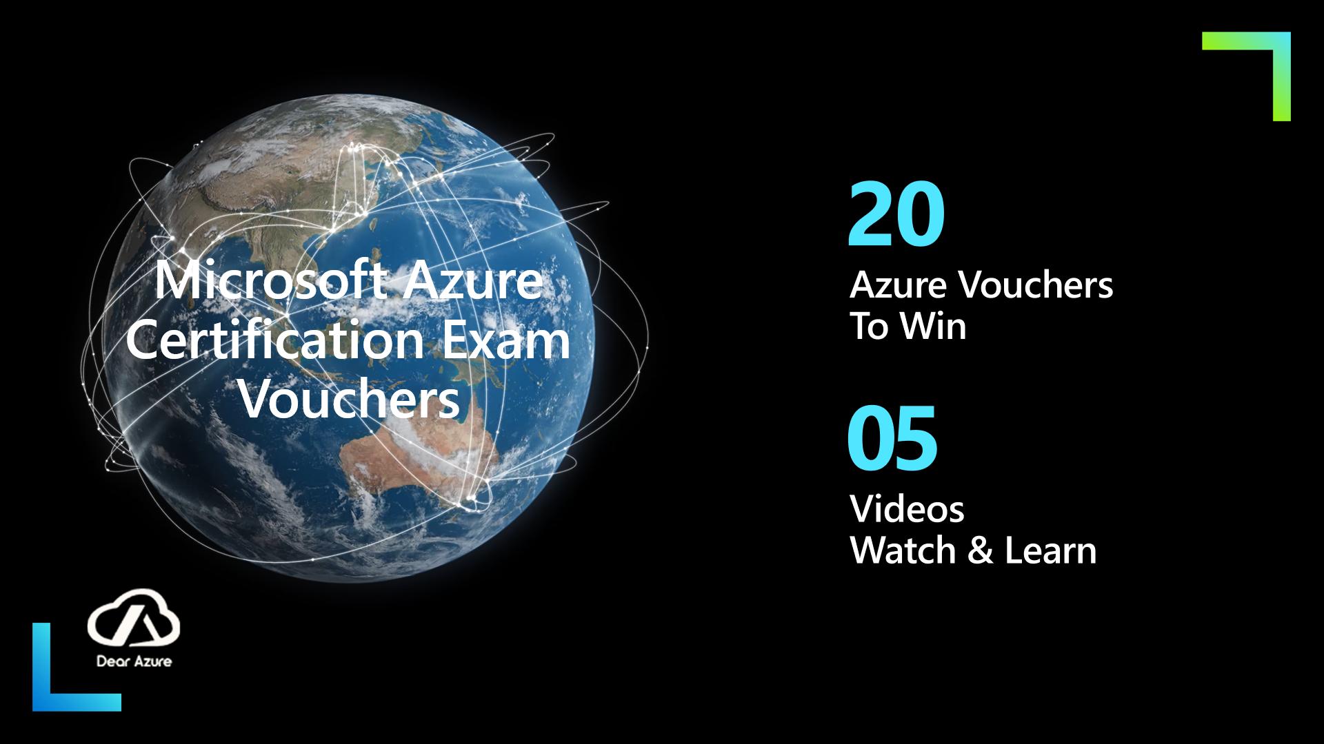 How to win Microsoft Azure Exam Voucher