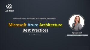Microsoft Azure Architecture Best Practices